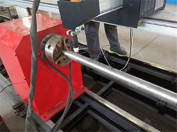 2017 neue tragbare Art Plasma-Metallrohrschneidemaschine, CNC-Metallrohrschneidemaschine