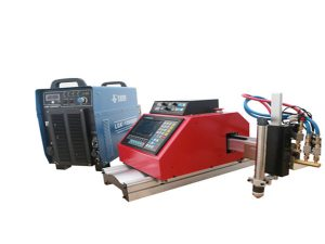 Automatische tragbare CNC-Plasma-Schneidemaschine für Stahl, Aluminium, Edelstahl