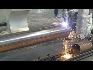 CNC 3 Achsen Plasma Flammrohr Drehrohr Stahlschneidemaschine