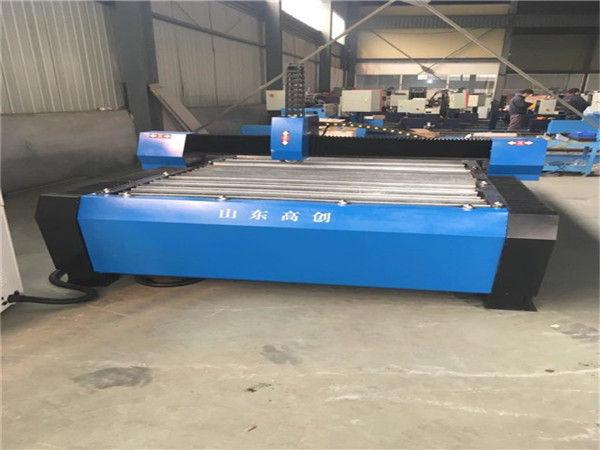 China 1325 Plasmaschneider Metall CNC Plasma-Schneidemaschine