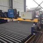 Doppelantrieb Portal CNC-Plasma-Schneidemaschine Schneiden von massivem Stahl / h Strahl Produktionslinie