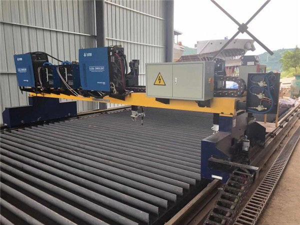 Doppelantrieb Portal CNC Plasma-Schneidemaschine zum Schneiden von Massivstahl H Beam Produktionslinie