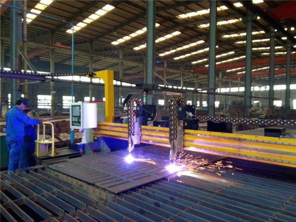 Portalplatte CNC-Plasma, das 45-Grad-Schneidemaschine abschrägt