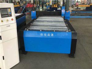 Hochleistungscnc-Rohrrohrplattenmetallplasmaschneidemaschine für Edelstahl / Kohlenstoffstahl / Eisen