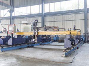 Intelligente Portalart CNC-Metallplattenschneidemaschine automatische Plasma- und Brennschneidermaschinerie