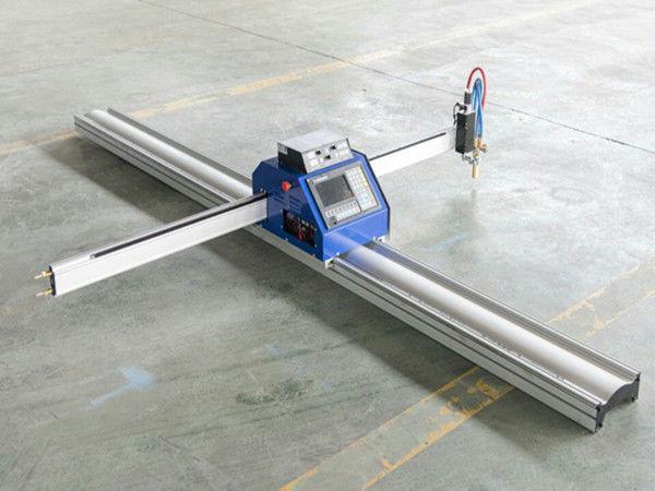Kostengünstige kleine Stahlplatte CNC Plasma-Brennschneidmaschine