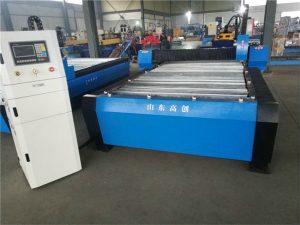 CNC-Plasma-Schneidemaschine mit Edelstahlschnitt