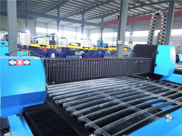 Praktische und wirtschaftliche Hochpräzisions-Metallbearbeitungsmaschine mit tragbarer CNC-Plasma-Schneidemaschine Zk1530