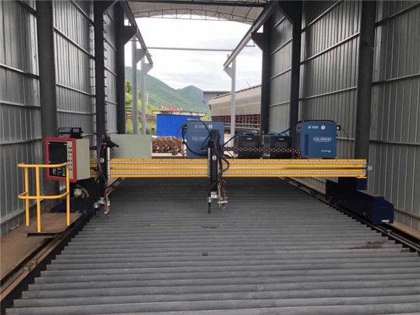 Stahlblech 1500x3000mm Größe CNC Plasma Blechschneidemaschine