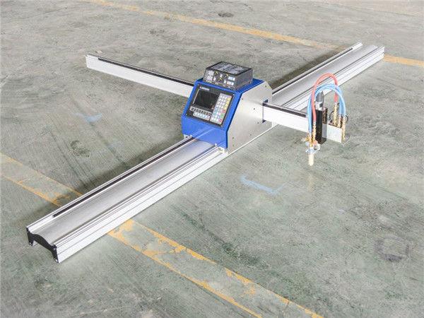 Stahlmetallschneiden kostengünstige CNC-Plasma-Schneidemaschine 1530 IN JINAN exportiert weltweit CNC