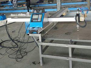 China lieferant schnelle geschwindigkeit tragbare cnc plasmaschneidanlage china