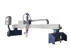 Hocheffiziente Portal-CNC-Plasma-Schneidemaschine / CNC-Brennschneidemaschine