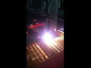 industrielle cnc-plasmaschneidanlage mit hoher plasmaleistung