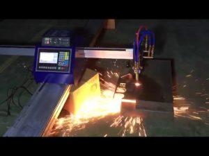 kostengünstige mini tragbare cnc rohr flamme plasma schneidemaschine zum schneiden von metall edelstahl