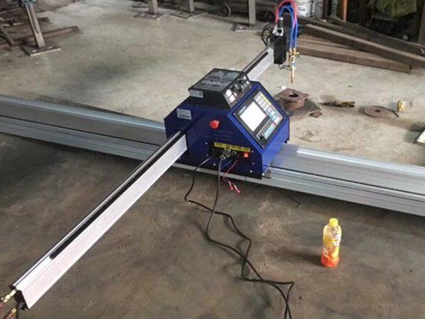 kleine cnc plattenplasmaschneidemaschine 1530 Tragbare CNC Metall PlasmaFlame blechschneidemaschine Cutter zum Verkauf